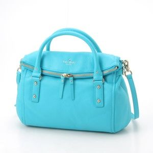 KATE SPADE COBBLE HILL SMALL LESLIE - BLUE